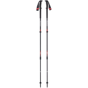 Black Diamond Trail Pro Trekking Poles fire red